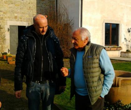 Massimo Cotto e Mogol