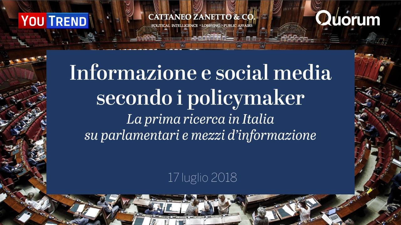 Informazione e social media