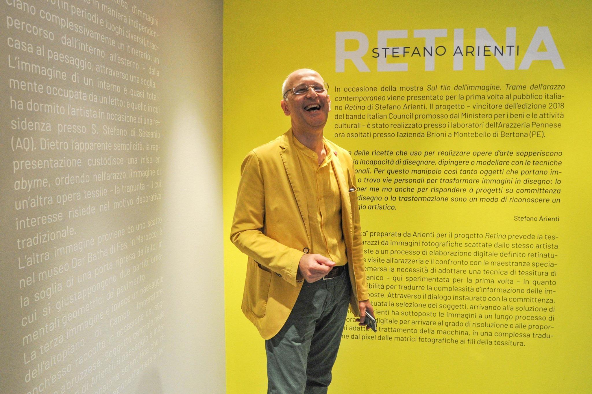 Incursioni gialle di Flumeri e Giacometti sul mio lavoro