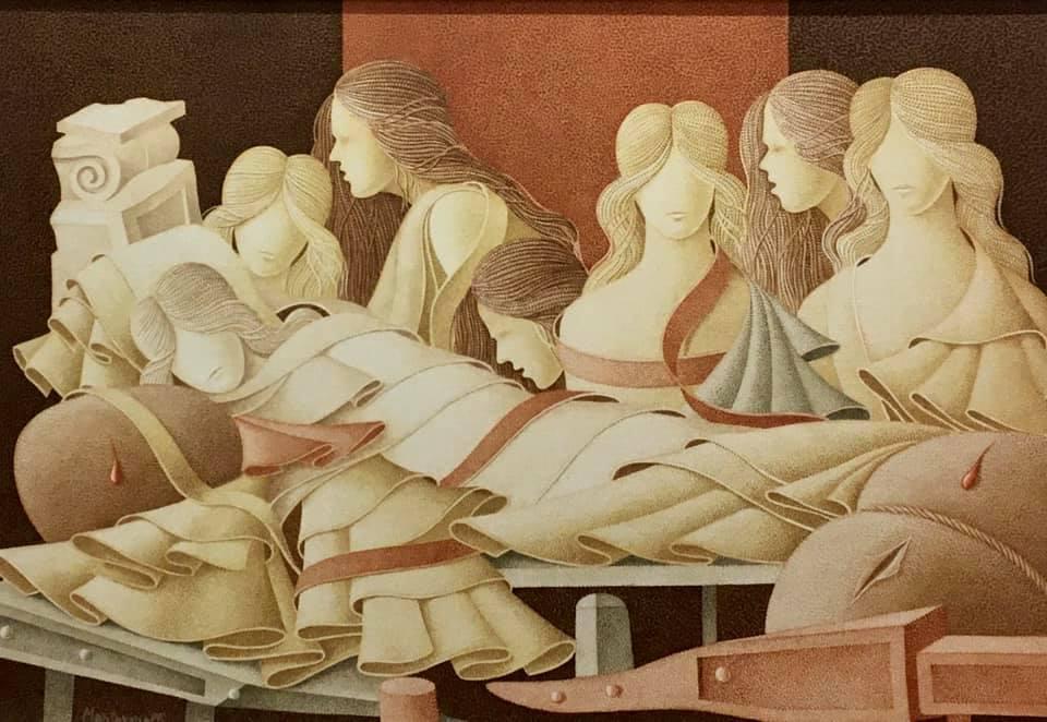 Mantovanelli in mostra all'Aquila