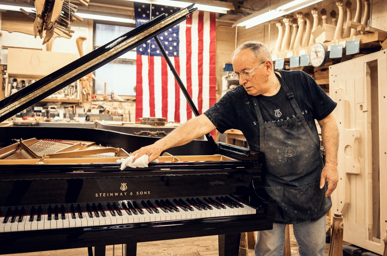 Auriti pianoman da Orsogna a New York